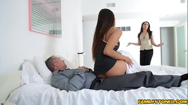 Step dad ravaging on Katya Rodriguez pussy