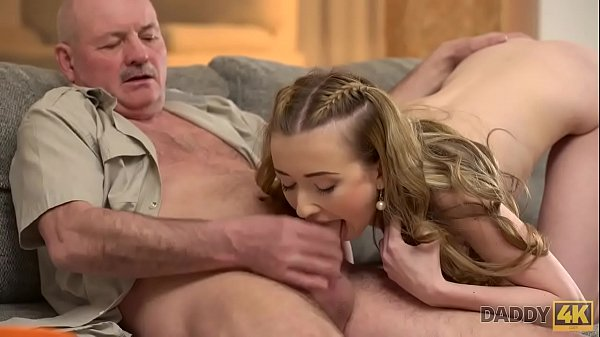 DADDY4K. Naive Jessi gives her tender tight sissy to old gentleman