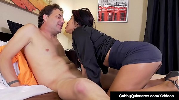 Mexican Milf Gabby Quinteros Bangs The Boss! Thumb