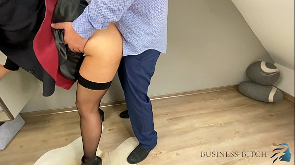 boss fucks secretary in leather skirt - business-bitch Thumb