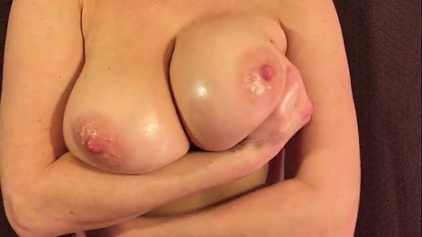 Curvy Wife Playing with Big Boobs Thumb