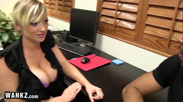Busty Secretary Takes A Huge Black Cock!