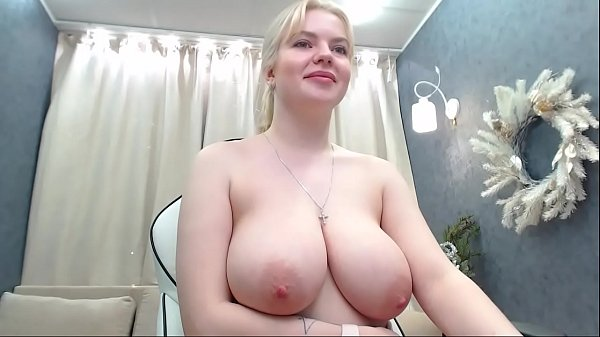 Russian cute girl with a huge tits