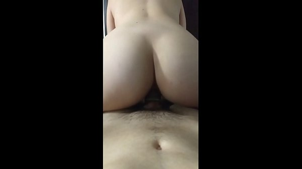 Fucking the girl on doggystyle and spanking her