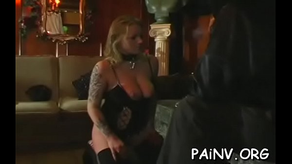 Tied chunky wench gets some extreme humiliation treatment