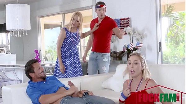 Sarah Vandella, Zoey parker In I Pledge Allegiance To My Father Figures Cock