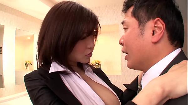 Asian MILF Fucks At The Office