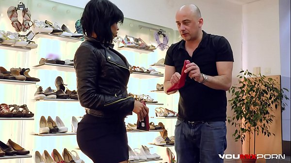 YOUMIXPORN Interactive Hardcore interracial fuck - Big ass ebony enchantress Canela Skin fucks for free shoes and gets cum on her feet Thumb