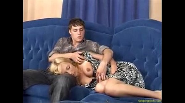 Sleeping Bitch Gets Pussy Drilled