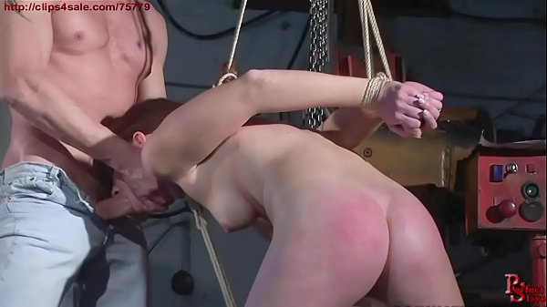 Hunting a slave in the city. The redhead victim.