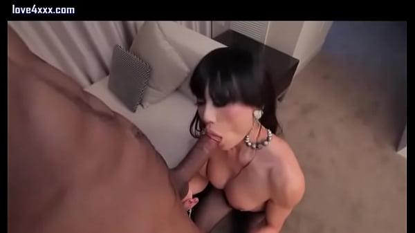 Tranny Sucks Black Dick