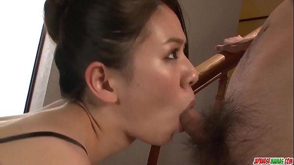 Kei Akanishi finger fucks, sucks cock and enjoys hardcore sex