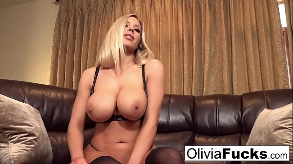 Olivia does a Titty Worship Jerk off Instructional video Thumb