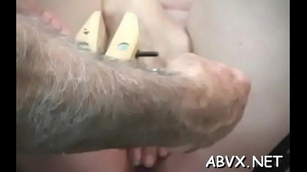 Tight slit extraordinary bondage in home xxx video Thumb
