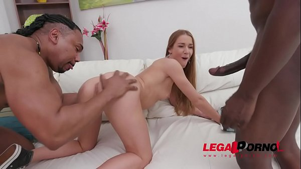 Alexis Crystal interracial anal threesome with double penetration