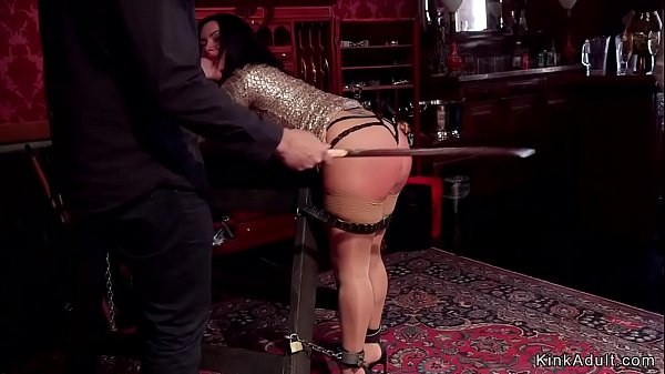 Young sub is taught fuck by Milf slave