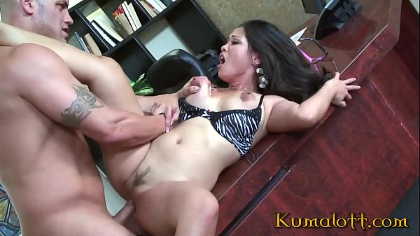 Natural Breasted Asian Jessica Bangkok Destroyed in the Office