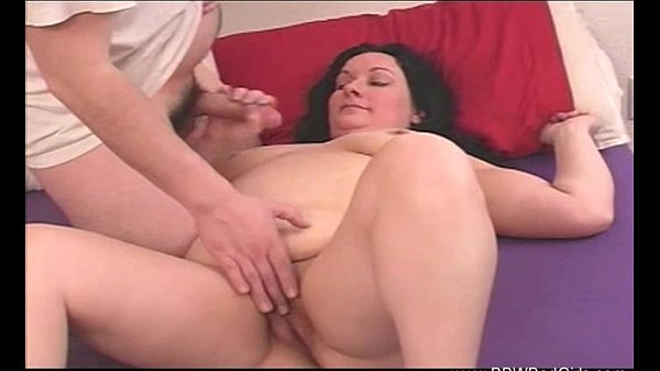 BBW Mom Jerks Off Son Thumb