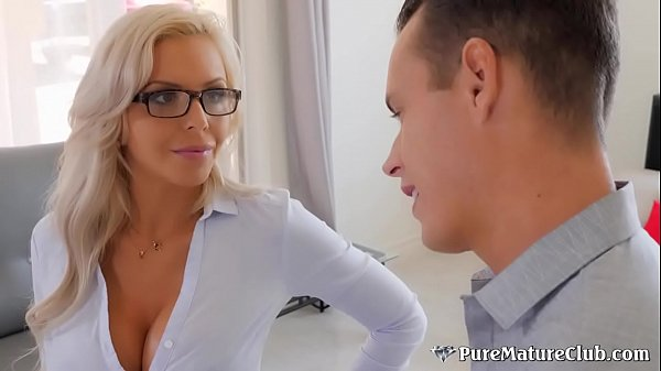 Cracking Busty Milf Nina Elle Fucks Buyer To Close The Deal