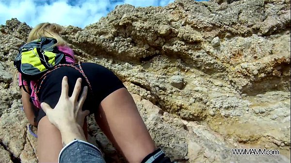 MyFirstPublic Instructor of climbing fuck her student by the sea Thumb