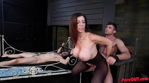 Sara Jay has sex slaves Lance Hart   Alex Adams Thumb