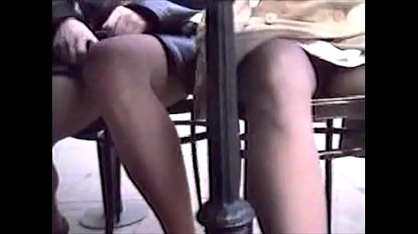 Classic UK British T-Bob panty pissing in public from Kazaa and Limewire