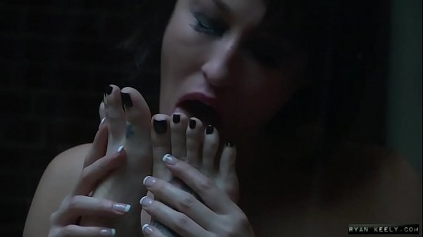 Athena and Ryan Worshiping Lesbian Feet