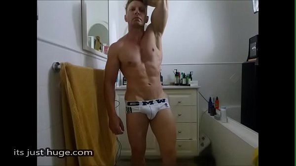 2018-12-25 23:01:10 - Bathroom Flex in Tighty whites underwear Briefs Bulge   Selfie Slide show Zak Rogerz 2 min  http://www.neofic.com