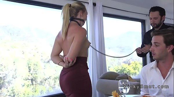Dudes boss bangs his wife in bondage Thumb