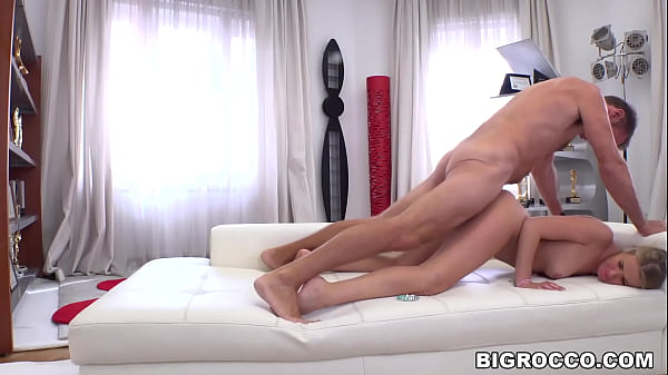 First timer Casey is introduced what is it like to have a big cock ramming you