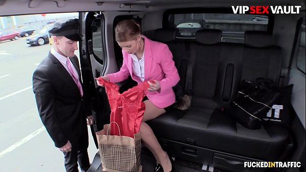 VIP SEX VAULT - #Chrissy Fox - Horny Young Driver Fucks On His Car With A Czech Business Woman Thumb