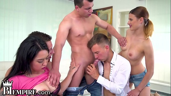 BiEmpire Bi Orgy Leads To Buttfucking Fun
