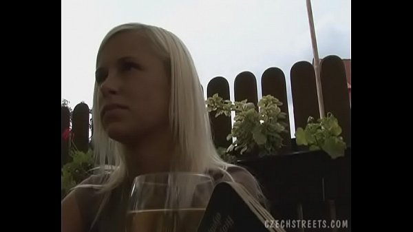 Superb Nature Blonde Gives a Head on Public Thumb