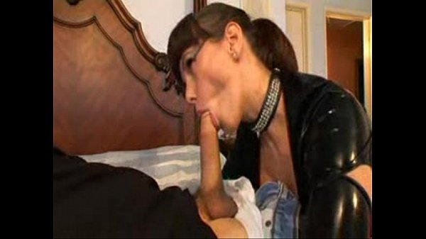 Outrageously Hot MILF Pounded In Latex
