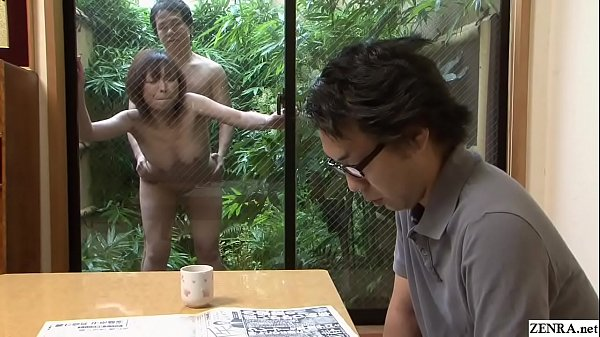 Uncensored Japanese wife outdoor raw sex with gardener Thumb