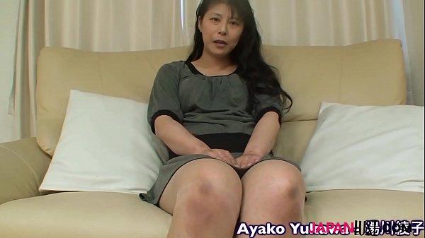 นัดสาวใหญ่หุ่นอวบมาเย็ดเป้นงานดี เย็ดเสียวมากๆ คลิปสาวใหญ่โดนเย็ดไม่เซ็นเซอร์ Japanese Granny Ayako Yukawa