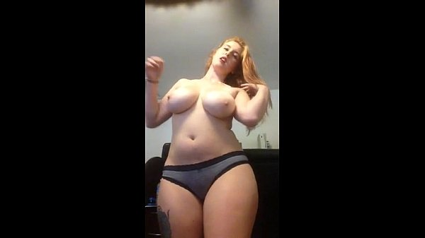 Read Head Chubby Cam Girl Getting Horny