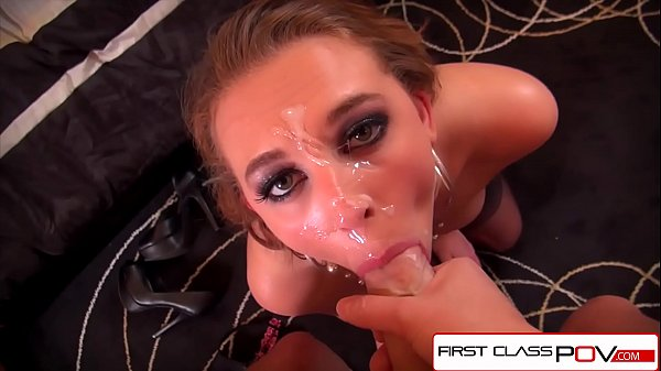FirstClassPOV - Teen Brooke Wylde sucking a moster cock, big booty