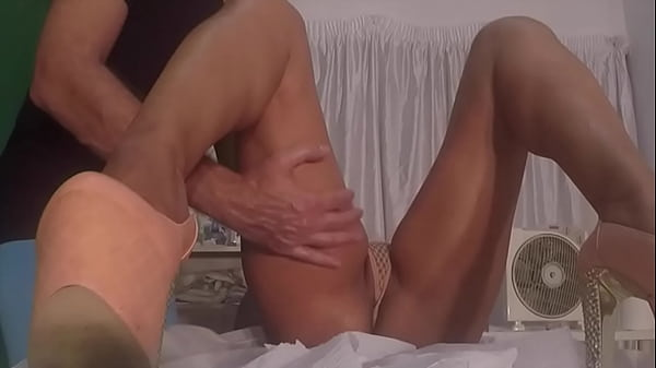 Married Brazilian Wife Seduce Masseur with Sexy Transparent Lingerie Thumb