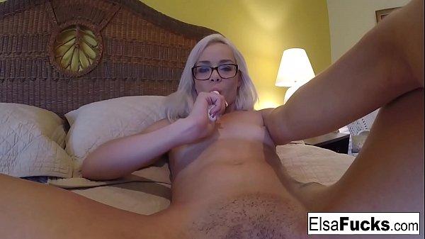 Elsa Jean's home video masturbation Thumb