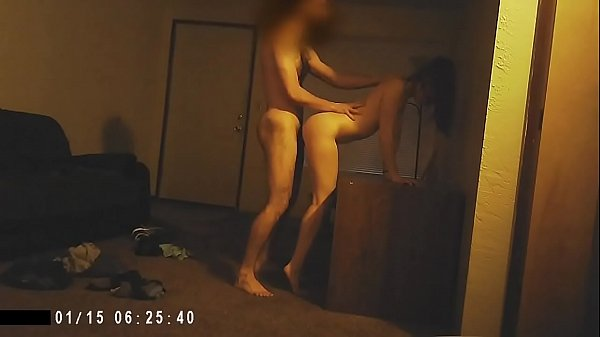 Standing sex and cumshot
