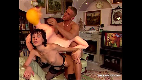 Elizabeth Goes ATM and Rides a Hard Cock Thumb