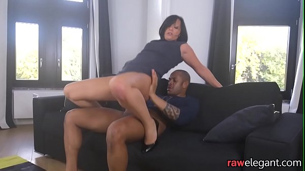 Glamcore MILF assfucked by black dong Thumb