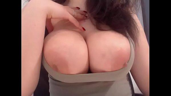 Big tits tight shirt