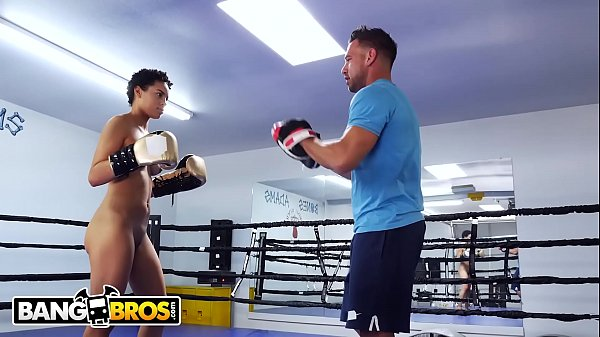 BANGBROS - Johnny Castle Turns Up The Heat On Amethyst Banks For Boxing Thumb