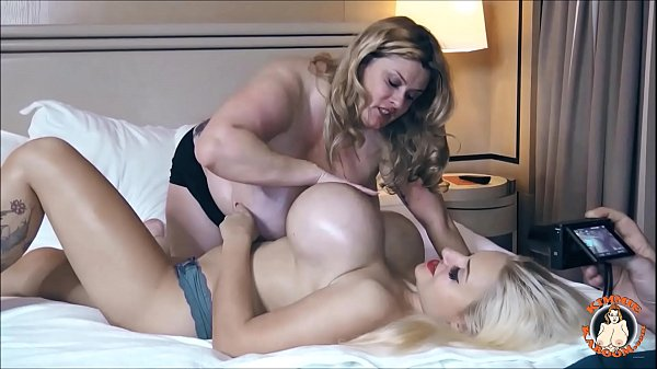 BBW Kimmie KaBoom and Dolly Fox Play With Their Gigantic Tits!