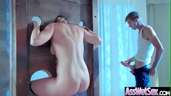 (Kate England) Hot Girl With Big Oiled Butt Nailed Deep In Her Asshole movie-16