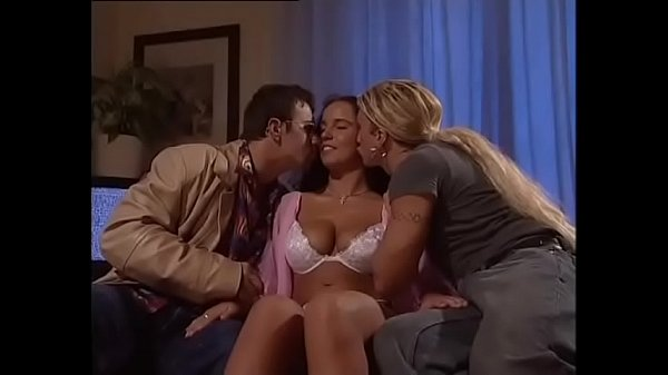 Epic Threesome for a Teen Girl with big tits Thumb