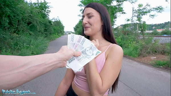 Public Agent Social Influencer Katy Rose Gets F...