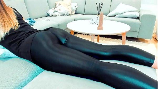 Latex Whore Twerking Her Ass….